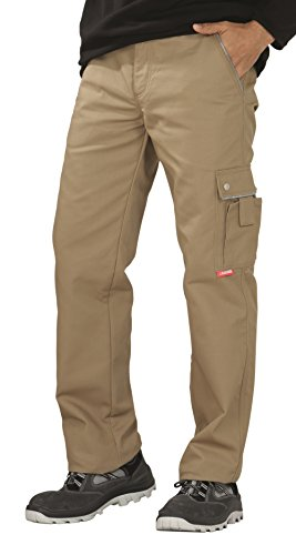 Planam 2145 Thermohose Canvas 320 Khaki (102, Khaki)