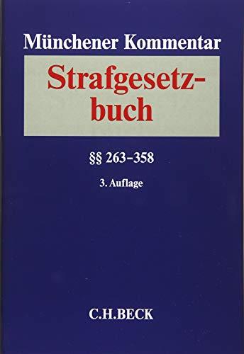 Münchener Kommentar zum Strafgesetzbuch Bd. 5: §§ 263-358