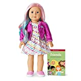American Girl Truly Me - 18 Inch Truly Me Doll - Light Blue Eyes, Pastel Multicolor Hair, Light Skin with Warm Olive Undertones - DN88