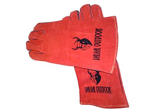 Valhal Outdoor Ofenhandschuhe Hitzebeständig Grill BBQ Handschuhe