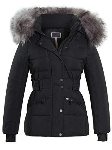 SS7 Manteau en Fausse Fourrure pour Femme