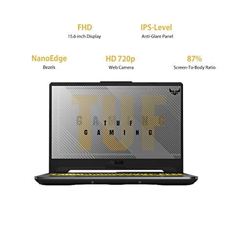 Asus TUF Gaming A17 FA706IH-AU016T(Ryzen 5 Hexa Core 4600H/8 GB/512 GB SSD/Windows 10 Home/GDR6 4 GB Graphics/NVIDIA Geforce GTX 1650/120 Hz/17.3 inch/Gray Metal/2.6 kg)