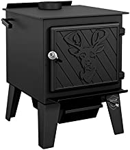 Drolet Black Stag High-Efficiency Wood Stove