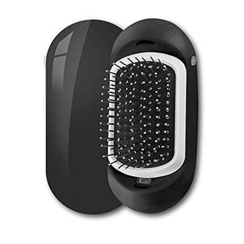 AZLMJXH Ion Hair Brush, 2 Magie Tragbare Elektrische Ion Hair Brush Upgrade-Negativ-Ionen-Haarbürste Haarstyling Kopfhaut-Massage Comb,1