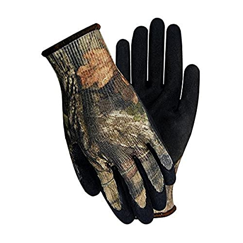 HandMaster T485TL Mossy Oak Coated Glove, 100% Polyester, Large, Camo, XL
