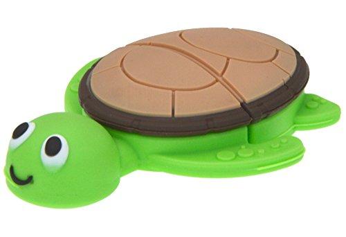 Uflatek 32 GB Speicher Stick Schildkröte Form Flash-Laufwerk Karikatur U Disk 2.0 Grün Memory Stick Neuheit Thumb Ddrive Gutes Geschenk für Weihnachten und Geburtstag