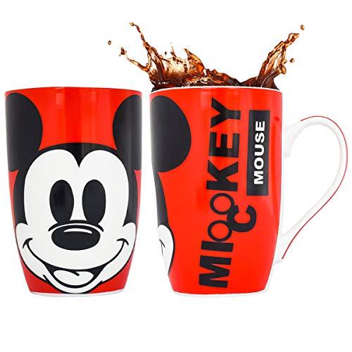Fun Kids 1530-704 Taza Disney Mickey para Café, 500 ml, Multicolor