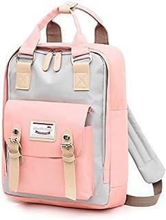 Multifunction women backpack girls shoulder bag High quality canvas laptop backpack schoolbag for teenager girls boys trav...