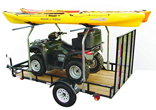 Malone Auto Racks Top Tier Utility Trailer Cross Bar System