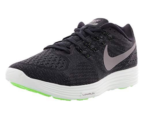 Nike Damen WMNS Lunartempo 2 LB Laufschuhe, Black (Schwarz/MTLC PWTR-Anthrct-BRLY Grn), 38 EU