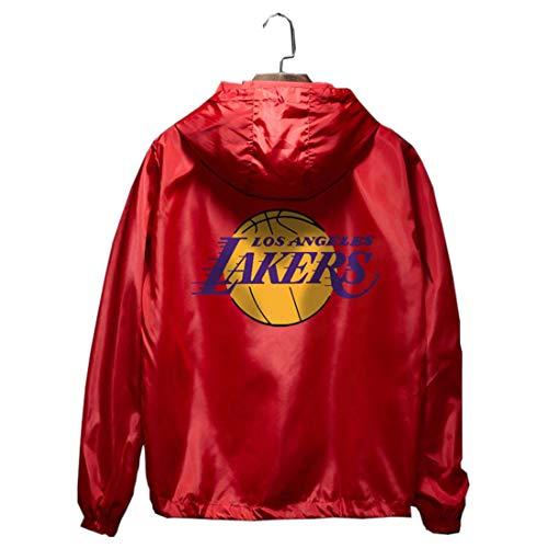 Lakers Kobe Bryant Nr. 24 Basketball Trenchcoat Jacke Herren Sommer dünn