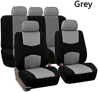 Asiento de coche cubiertas del asiento del automóvil del sistema completo de protección for cubierta del vehículo cubiertas del asiento accesorios del coche accesorios del coche universal de coche-Sty
