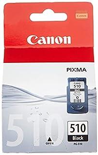 Canon PG-510 Cartucho de tinta original Negro para Impresora de Inyeccion de tinta Pixma iP2700-2702-MP230-240-250-252-260-270-280-480-490-492-495-499-MX320-330-340-350-360-410-420 (B001EX5BJ2) | Amazon price tracker / tracking, Amazon price history charts, Amazon price watches, Amazon price drop alerts
