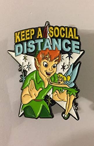 Peter Pan & Tinkerbell Fantasy Pin