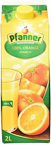 Pfanner Orangensaft 100%, 6 x 2 l Packung