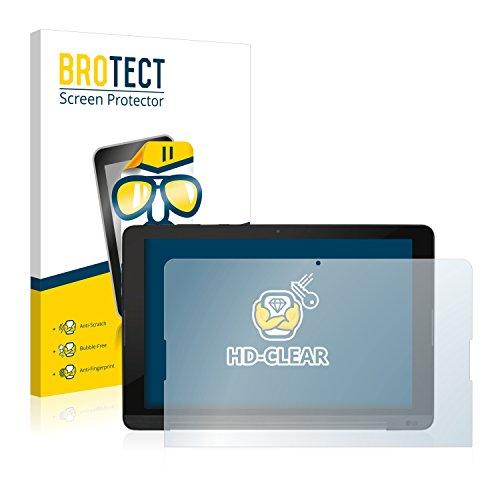 BROTECT Schutzfolie kompatibel mit LG G Pad 3 10.1 (2 Stück) klare Bildschirmschutz-Folie