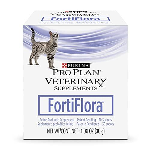 Purina FortiFlora Cat Probiotic Powder Supplement, Pro Plan Veterinary...