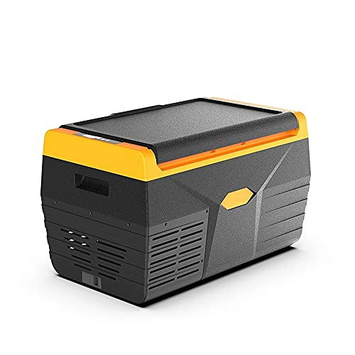 20L Car fridge freezer Electric Cooler AC & DC For Car And Home Outdoor Camping Picnic Icebox Beer, Wine & Drinks Chiller Compact Portable and Quiet -20°C-20°C