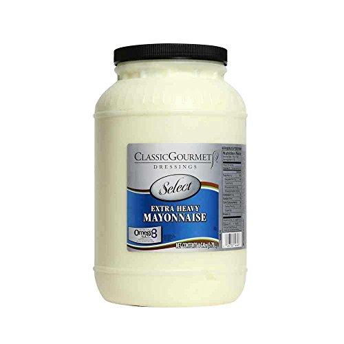 food mayonnaises Ventura Foods Classic Gourmet Select Extra Heavy Duty Mayonnaise, 7. 3 Pound Jar -- 4 per case.