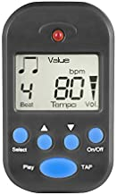 Luvay Digital Metronome - Mini Portable, Multifunctional, Clip on, Beat Tempo - with Battery for Piano, Guitar, Violin, Dr...
