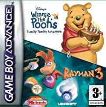 Rayman / Winnie The Pooh Rumbly Double Pack (GBA)