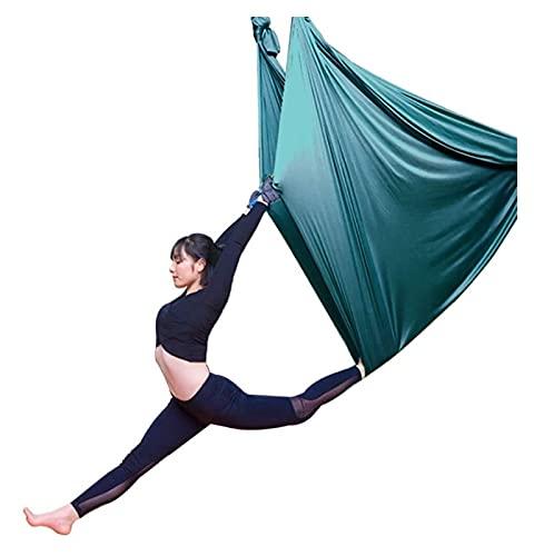 SHUHANG Columpio Sensorial Sedas de Interior Yoga Aéreo Terapia Columpio Hamaca Columpio Volador Antigravedad (Color : Blue, Size : 700x280cm)