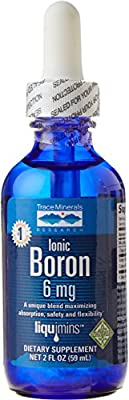 Trace Minerals Research 59 ml 6 mg Liquimins Ionic Boron Liquid from Trace Minerals Research