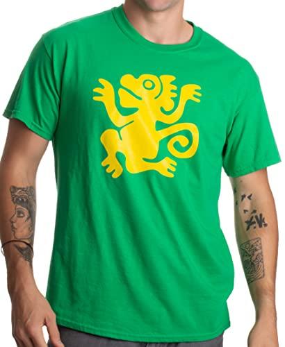 Legends of The Hidden Temple Tribute | 90s Halloween Team Costume Unisex T-Shirt-M-Green