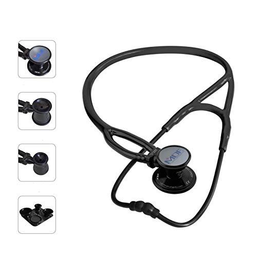 MDF ProCardial ERA Cardiology Lightweight Dual Head Stethoscope with Adult, Pediatric, and...