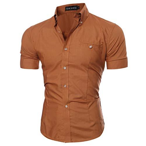 Camisa para Hombre Camisa Casual de Primavera y Verano para