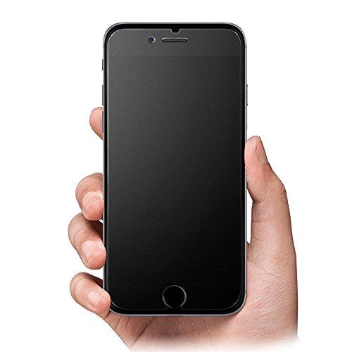 iPhone 7 plus iPhone 8 plus Mate Vidrio Protector de Pantalla Screen Protector, Rioto Antirreflejos & Anti-huella digital Dureza 9H Vidrio Templado Proteger Película para iPhone 7 8 plus