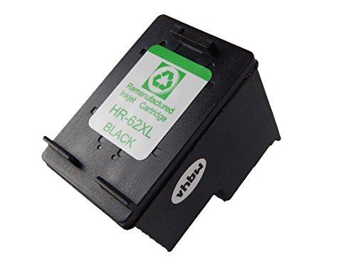 vhbw Cartucho Tinta Cartucho Impresora Compatible de Repuesto Negro para impresoras HP Envy 5540, 5541, 5542, 5543, 5544, 5545, 5546