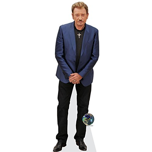 Celebrity Cutouts Johnny Hallyday Taille Mini