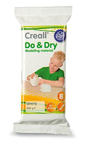Creall havo26011,Havo Do Trockenmassen Modellier-Set, weiß, 500g