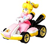 Hot Wheels GBG28 Mario Kart 1:64 Die-Cast Peach with Standard Kart Vehicle