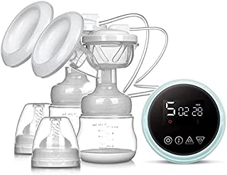 Useful Breast Pump Electrical Electric Double Breast Pump Breastfeeding Pump, Memory Function, BPA Free, Strong Suction Po...