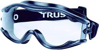 TRUSCO セーフティゴーグル(ワイドビュータイプ )フレーム黒 TSG22BK