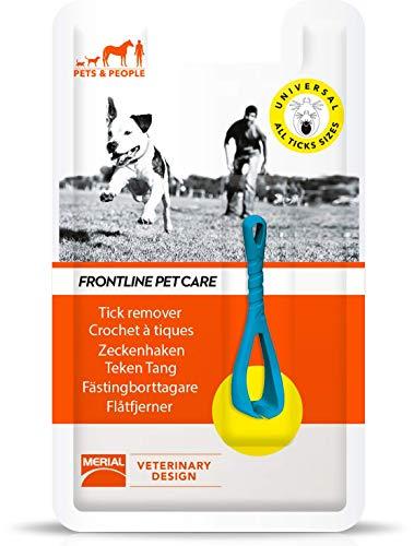 FRONTLINE PET CARE - Pince à tiques - pour Hommes et animaux - 1 tire-tiques