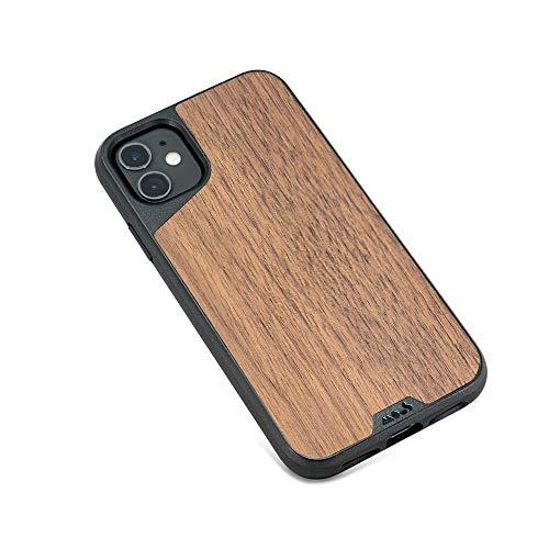 Mous - Funda para iPhone 11 - Limitless 3.0 - Madera de Nogal - Sin Protector de Pantalla Incluido