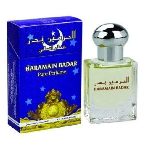 15ml Haramain Badar Pure Perfume Attar Women Men Fragrance Pocket Size Fragrance