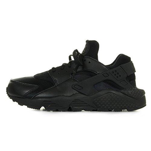 Nike Wmns Air Huarache Run, Scarpe da Ginnastica Basse Donna, Nero (Black 012), 35.5 EU