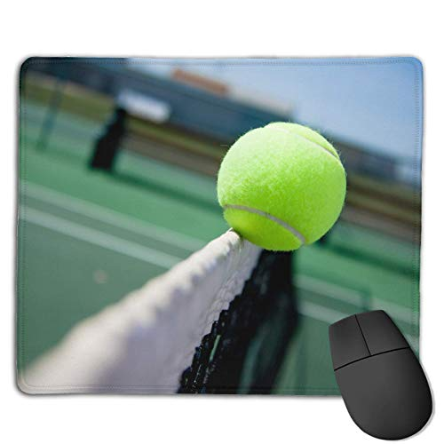Gaming-Mauspad, Mauspads Fantastic Tennis Funny Pattern Rectangle Rubber Mousepad Gaming Mouse Pad 9.8x12 Inch for Notebooks,Desktop Computers