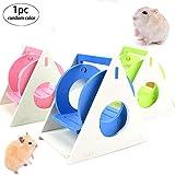 Snner 1pcs Hamster Hamster Balançoire Hideout Rat échelle d'escalade Petits Jouets Accessoires pour Animaux gerbilles...