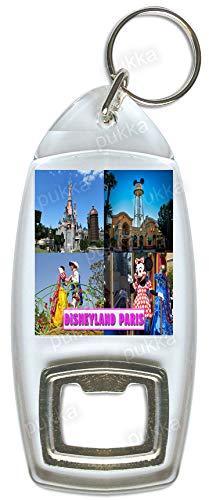 Disneyland Paris France - Llavero con abrebotellas de recuerdo