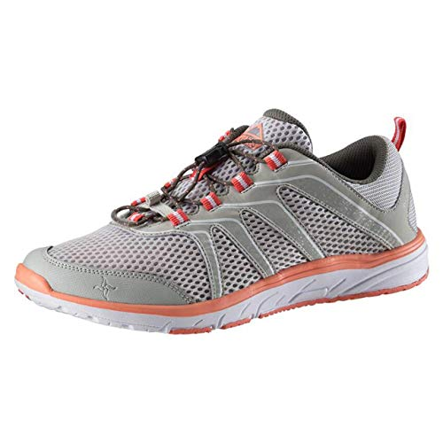 McKINLEY dames Amphibio cross-trainer, grijs (Grey Light/Red Light 900), 42 EU