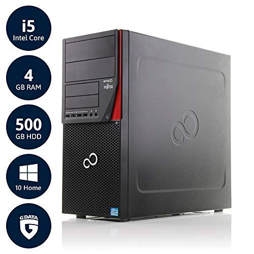 Fujitsu Esprimo P910 | 3 Jahre Garantie | Intel Core i5 bis 3.6 GHz | 4GB RAM | 500GB HDD | KEIN DVD | Win10 Home | G Data Internetsecurity | Acronis True Image | (Generalüberholt)
