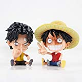 Qoloop One Action Figureq Ver.One Piece Monkey Luffy Anime Figura De Acción Figuras De PVC