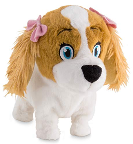 IMC Toys 94802IM - Plüschtier Lola Hundewelpe, braun/weiß