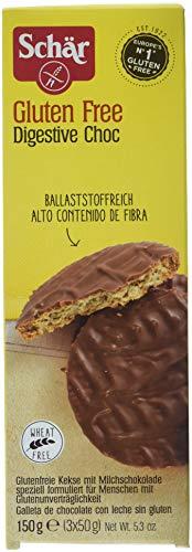 Schär Digestive Choc glutenfrei 150g, 6er Pack