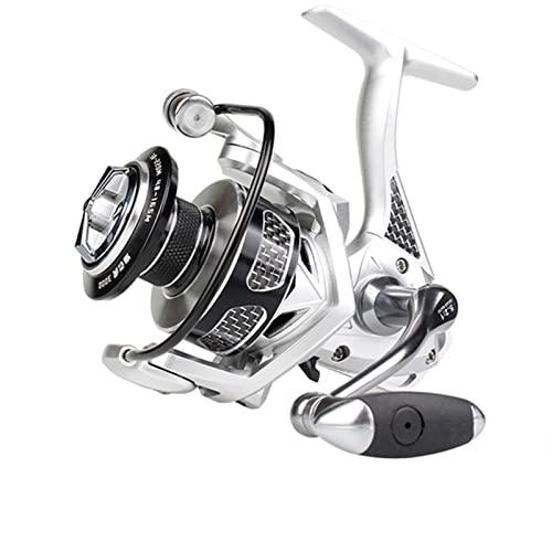 KSHOLK Carretes de Pesca,Carrete Spinning Reel de Pesca de Hilado de Agua Salada 2000-6000 MAX Drag 20kg Carrete de caña de Pescar (Spool Capacity : 3000 Series)